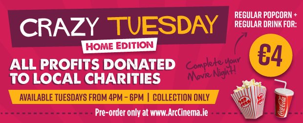 Advertisement For Arc Cinema Crazy Tuesday