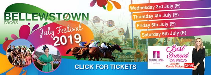 Advertisement For Bellewstown Races July 2019