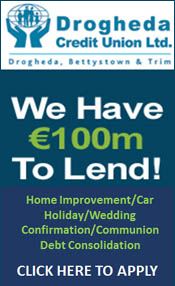 Advertisement For Drogheda Credit Union