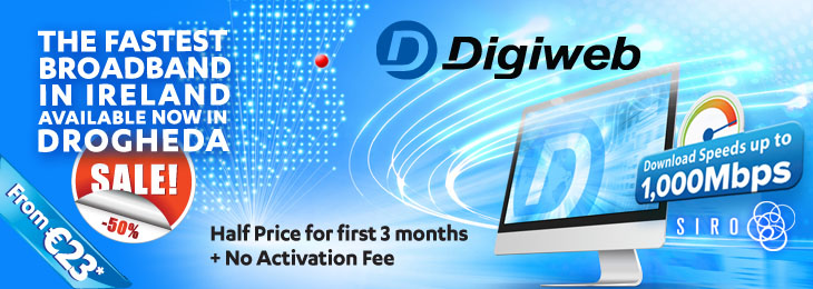 Advertisement For Digiweb730