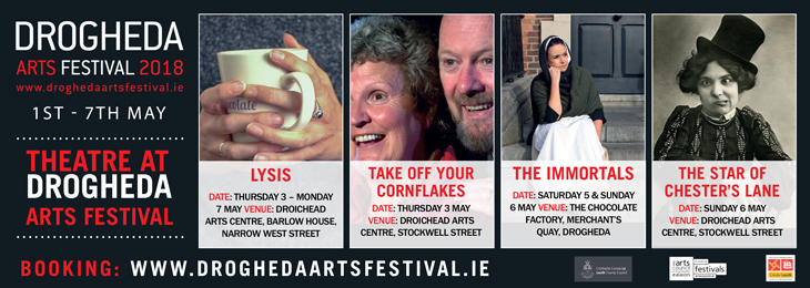 Advertisement For Drogheda Arts Festival