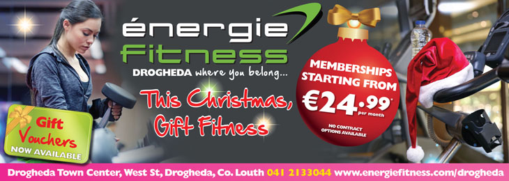 Advertisement For Energie Fitness Drogheda