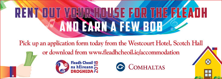 Advertisement For Fleadh Accomodation