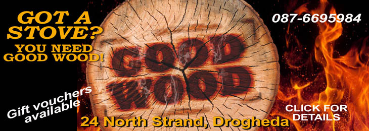 Advertisement For GOOD WOOD 2019