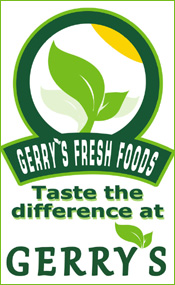 Advertisement For Gerry's Fresh Foods