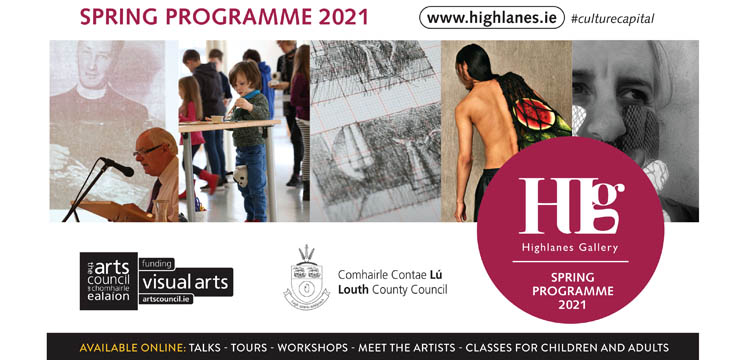 Advertisement For Highlanes Gallery Spring 2021