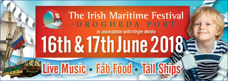 Advertisement For Irish Maritime Festival 2018