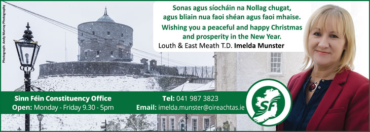 Advertisement For Sinn Fein Christmas