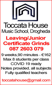 Advertisement For Toccata House Grinds